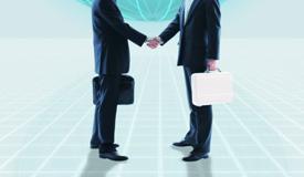 企業と税理士イメージ